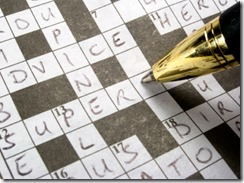 Completing a Crossword