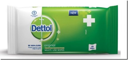 Dettol Multi-Use Wipes 1