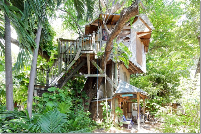 Treehouse at Lush Permaculture Farm