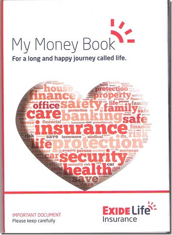 Cover : My Money Book