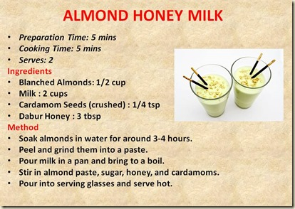 ALMOND HONEY MILK1