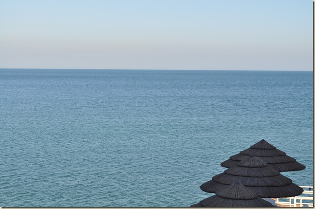 Pristine Blue Arabian Sea