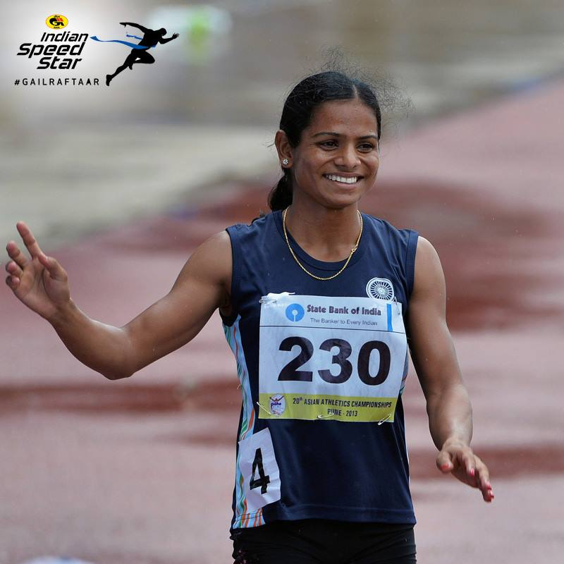 Gail- Indian Speed Star Dutee Chand