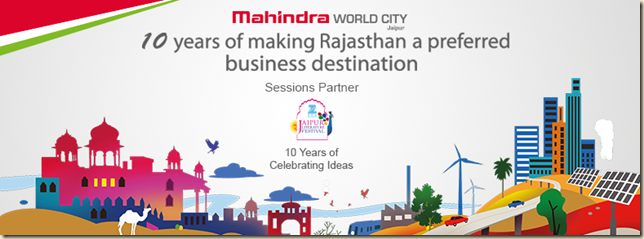Mahindra World City, Jaipur collaborates with Zee Jaipur Literature Festival 2017