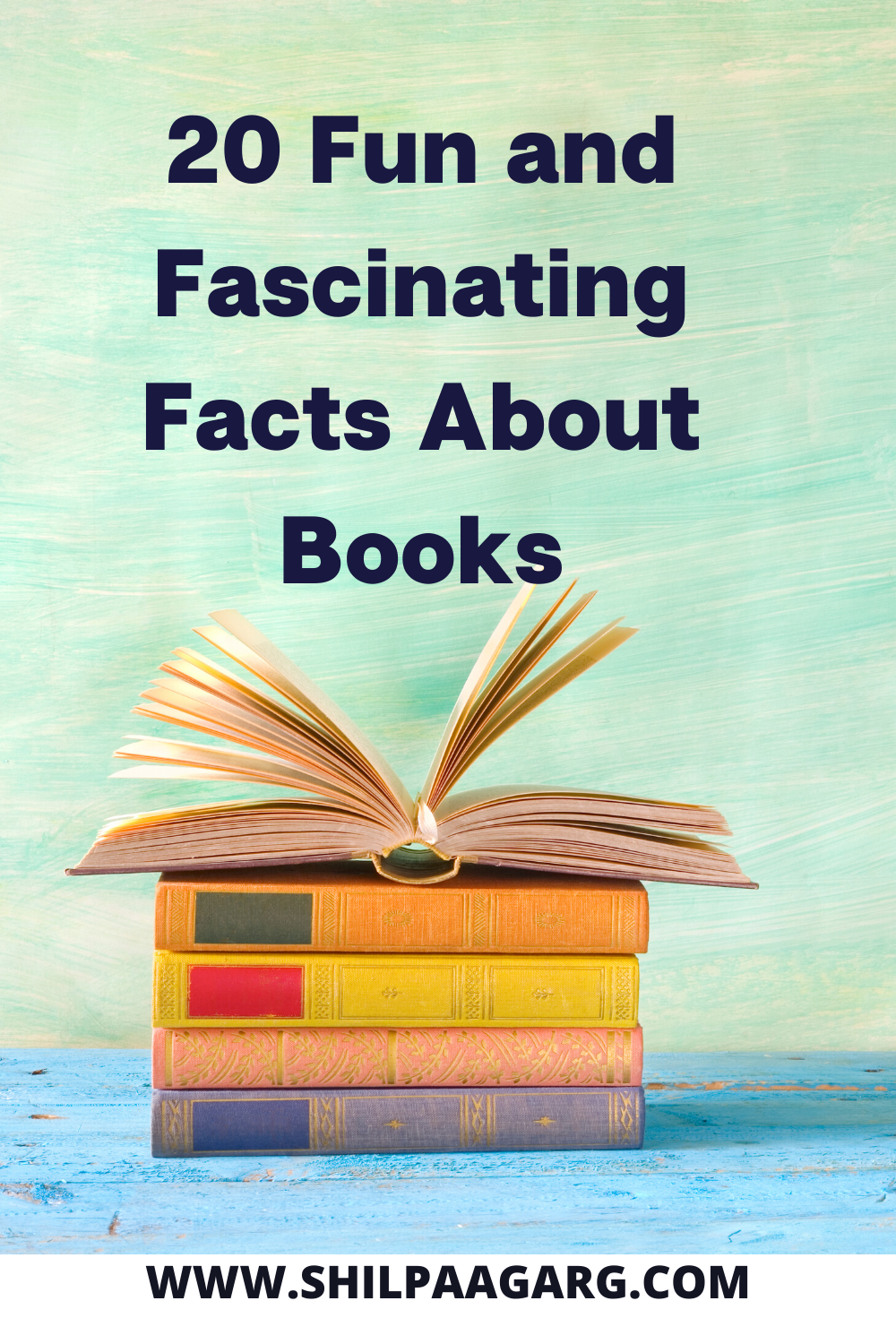 20 Fun and Fascinating Facts About Books