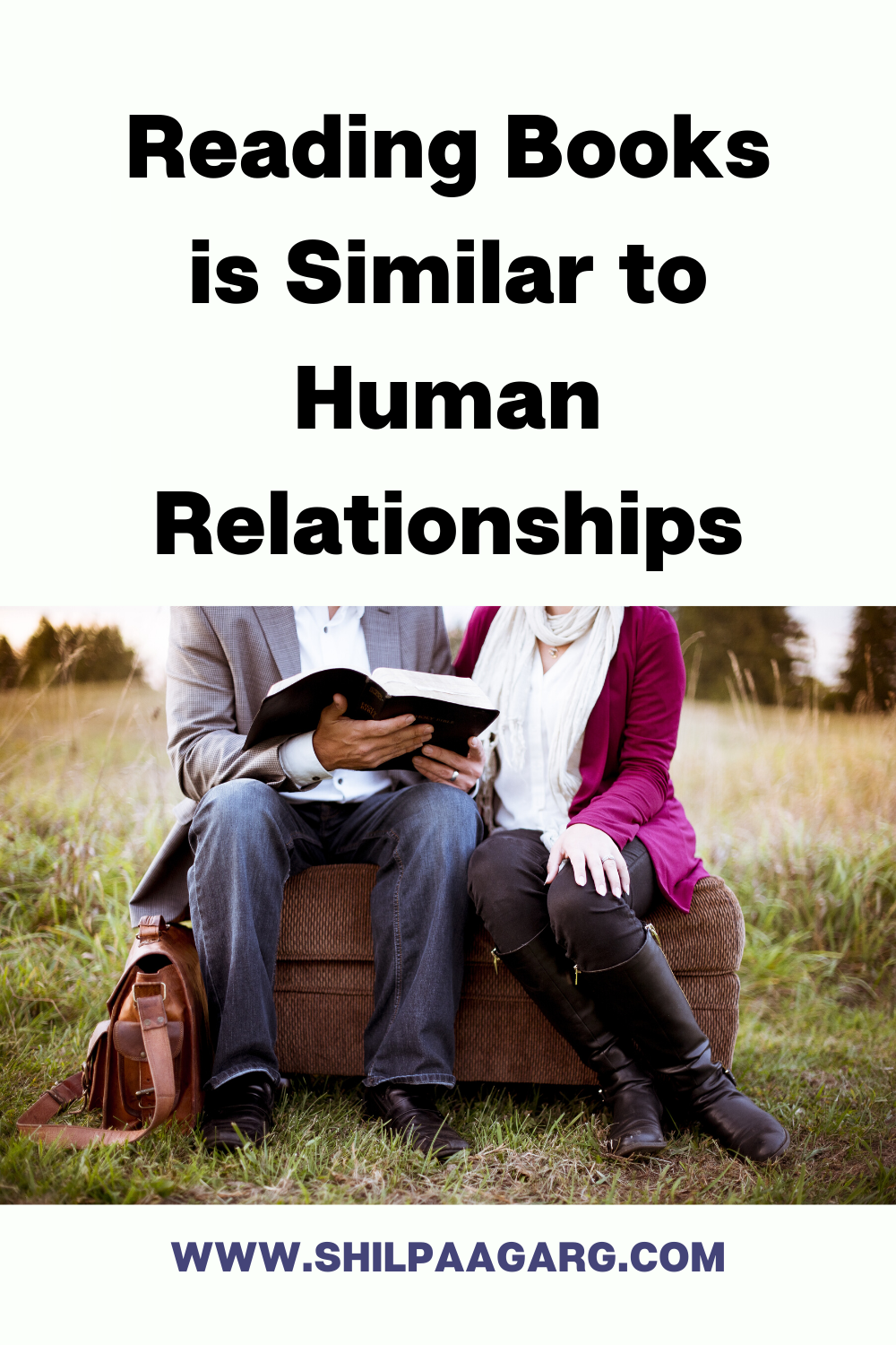 Reading Books is Similar to Human Relationships