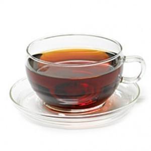 Black tea cup