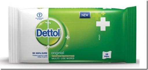 Dettol Multi-Use Wipes 1