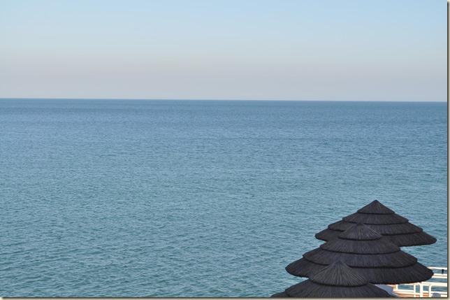 Pristine Blue Arabian Sea