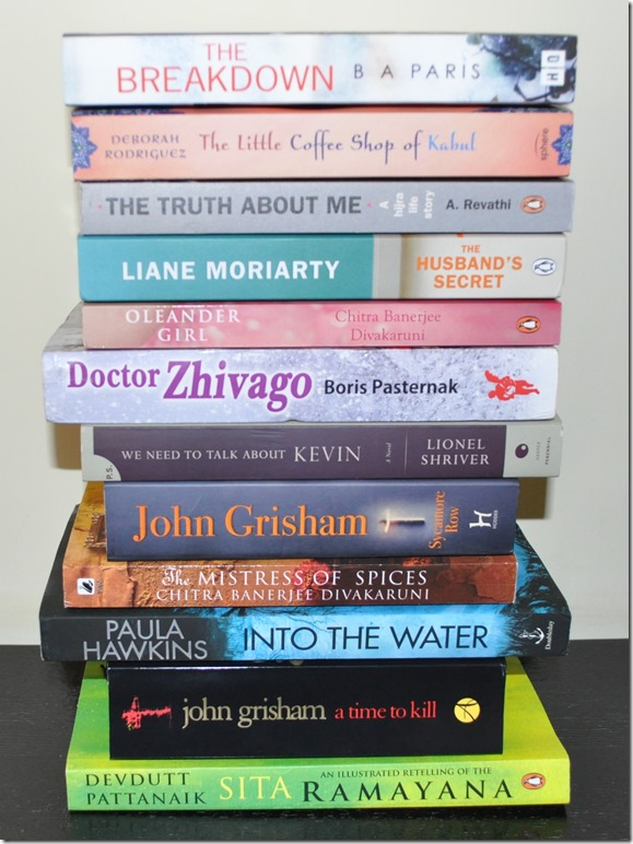 2018 Read Your (Book) Shelf Challenge
