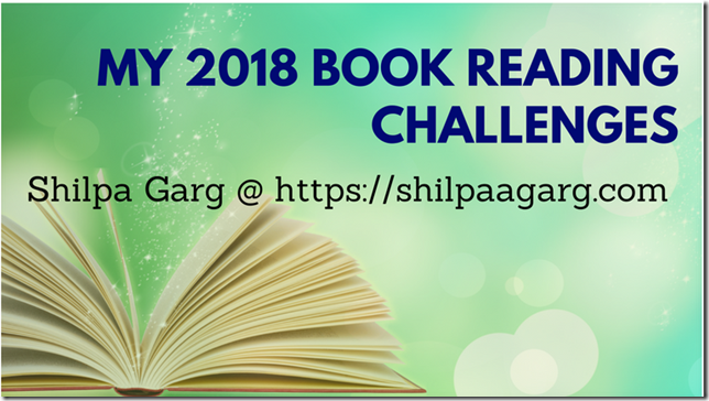 My 2018 Book reading Challenges