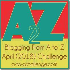 Theme Reveal – A to Z April 2018 Challenge