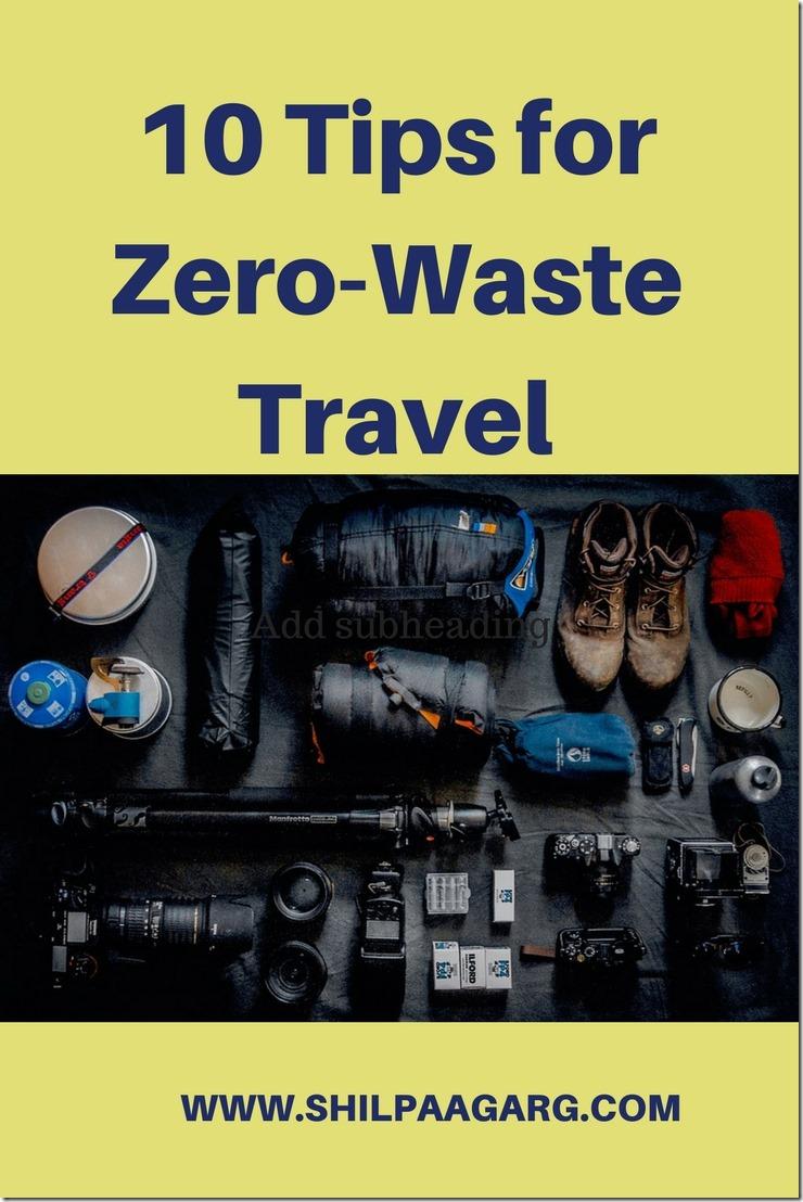 10 Tips for Zero-Waste Travel