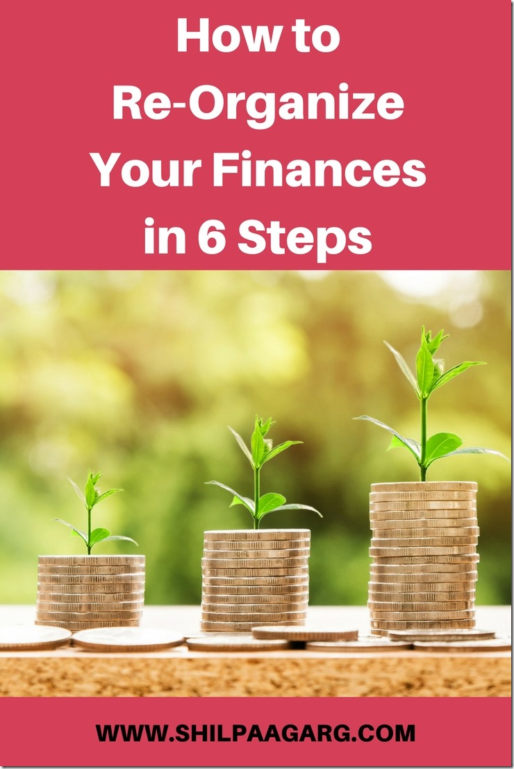How to Re-Organize Your Finances
