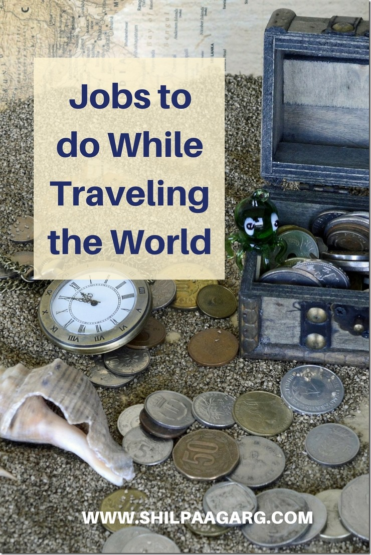 Jobs to do While Traveling the World