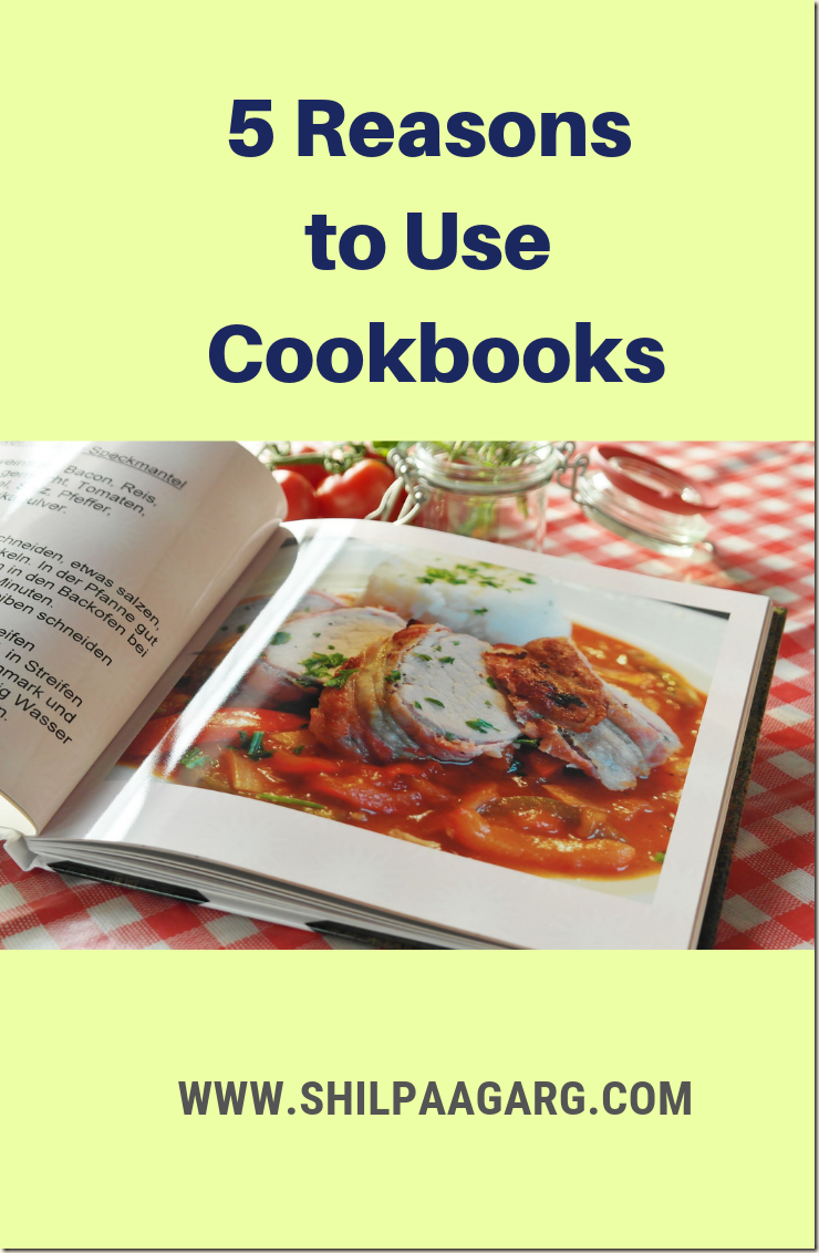 5 Reasons to Use Cookbooks
