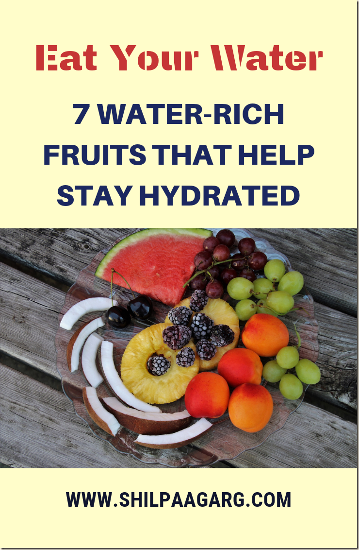 7 WATER-RICH FRUITS