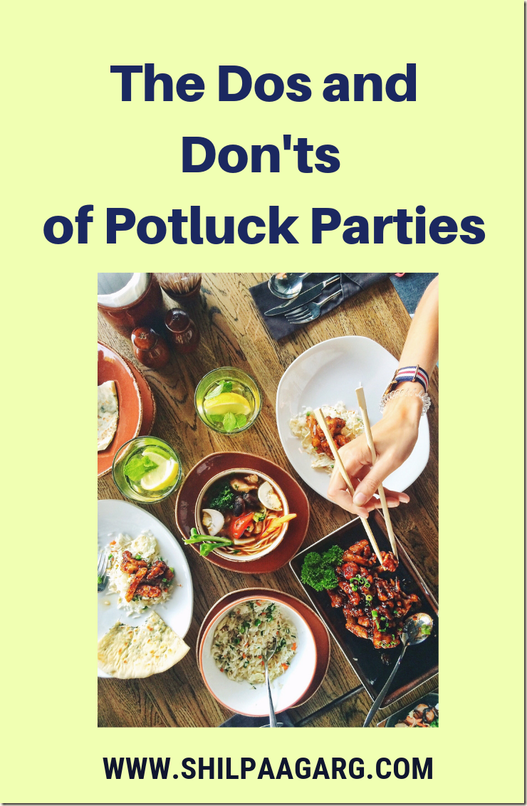 The Dos and Donts of Potluck Parties