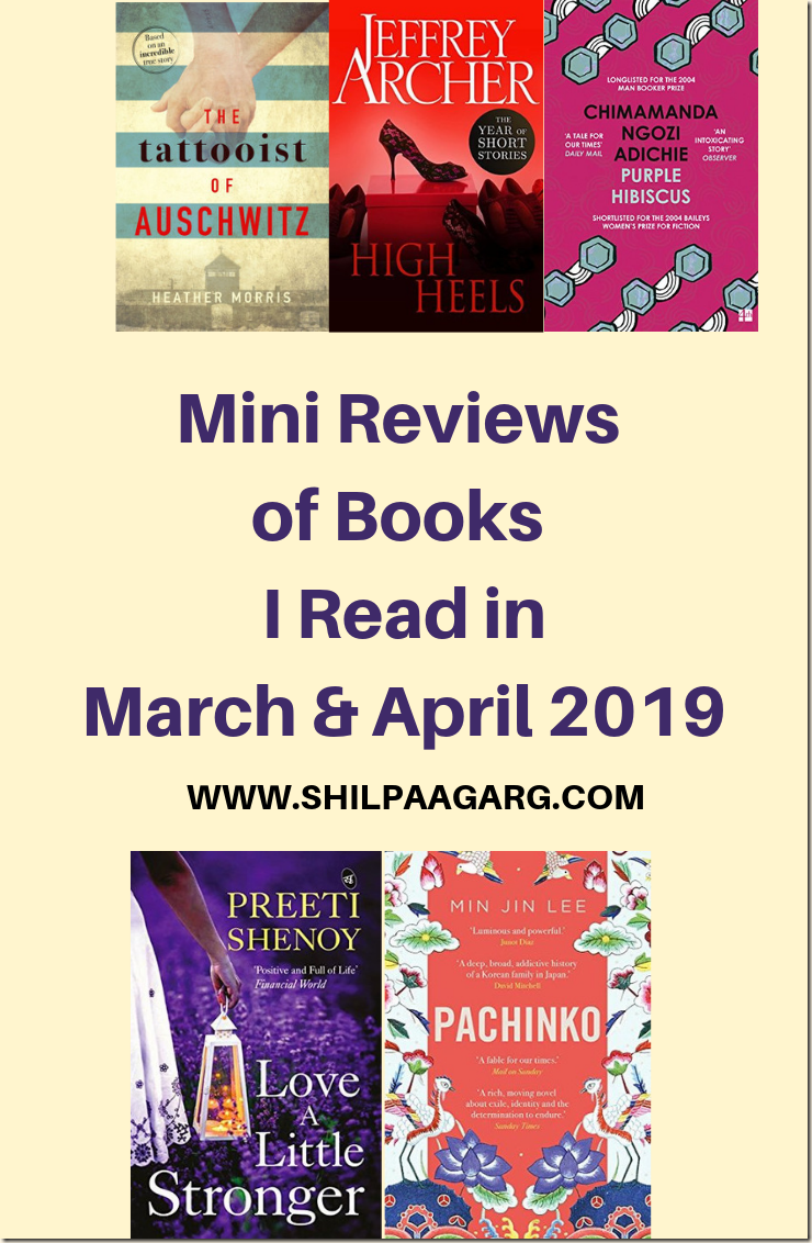 Mini Reviews of Books I Read in March April 2019