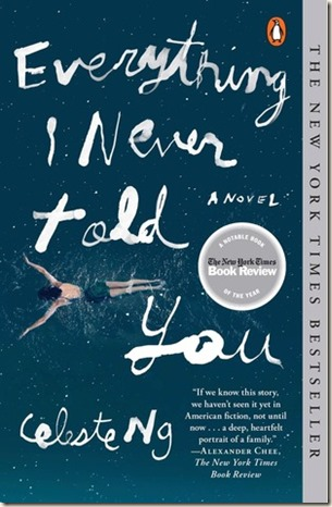 24. Everything I Never Told You by Celeste Ng