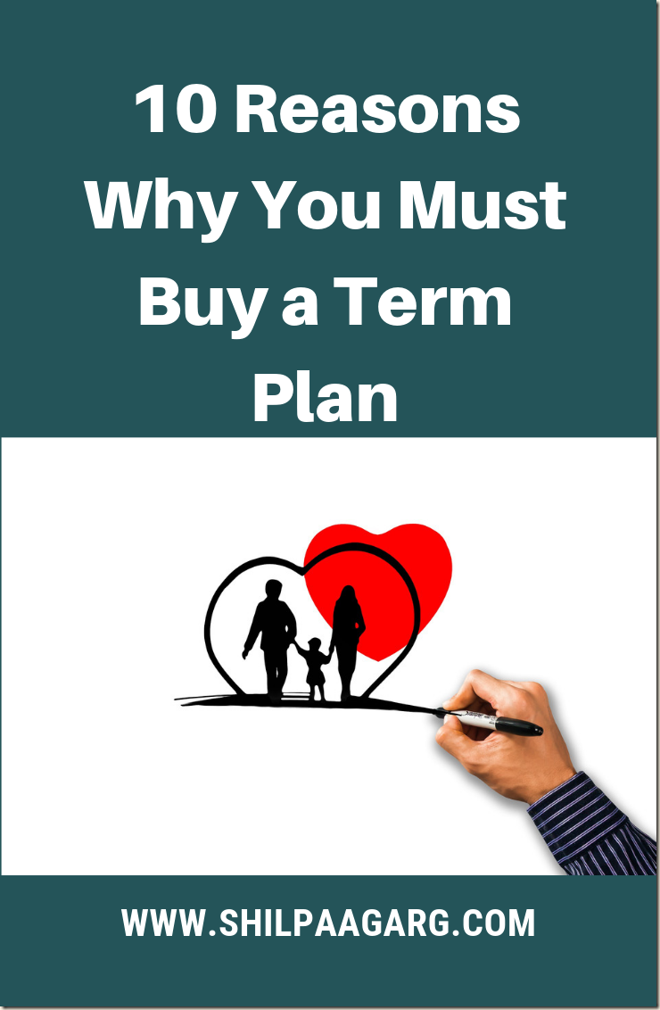 10 Reasons Why You Must Buy a Term Plan