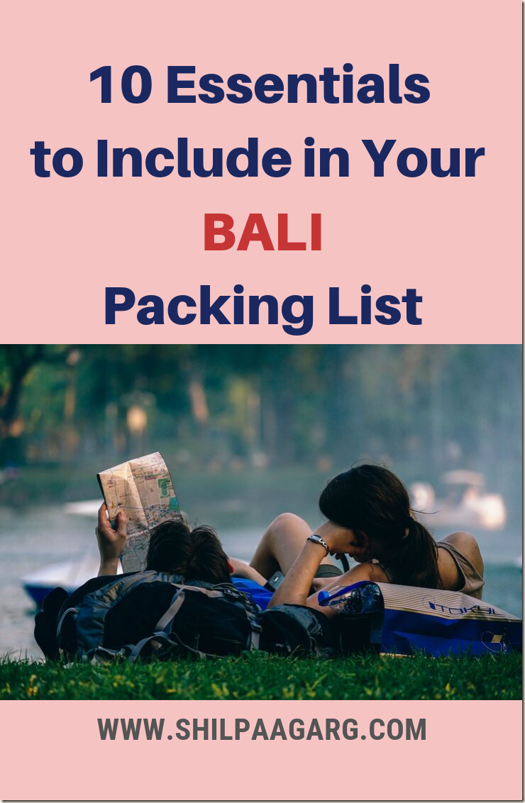 10 Essentials to Include in Your Bali Packing List