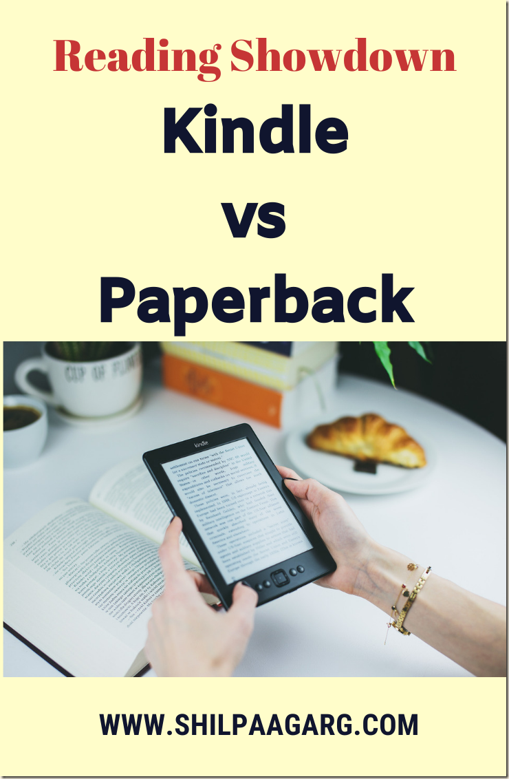 Kindle vs Paperback