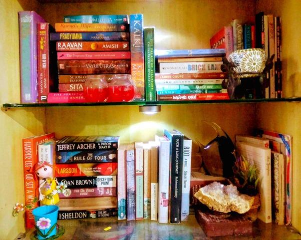 Tulika Singh Bookshelf