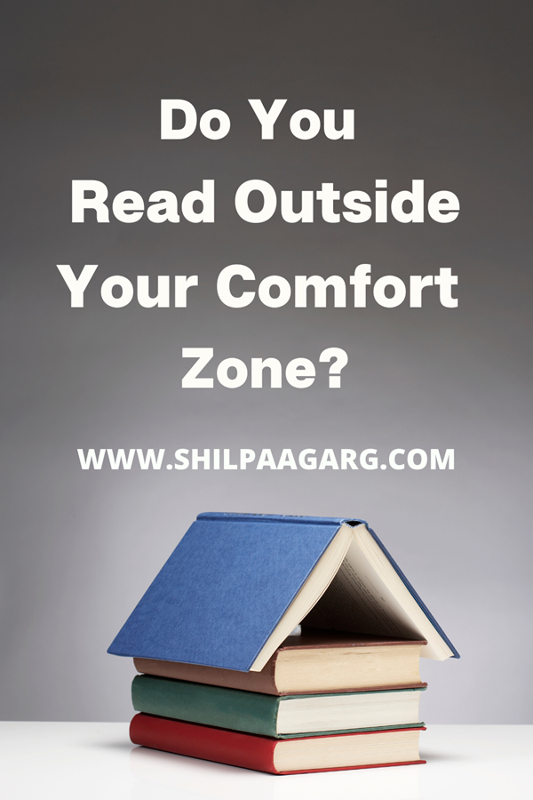 Read Outside Your Comfort Zone