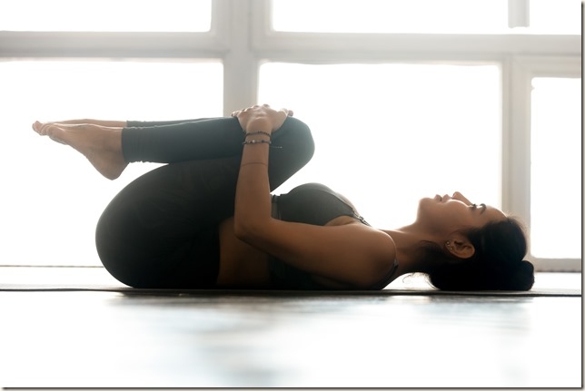 Pawanmuktasana (Wind-relieving pose)